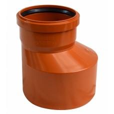 Переход  НПВХ 160х110 мм   (Для подземной канализации ) СИНИКОН (Румыния)