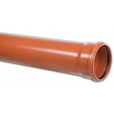 Труба  DN 110 SN 4 PVC-U (2м)