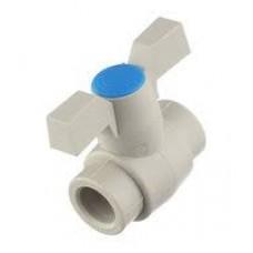 Вентиль пласт. шаровой 20 мм FV-Plast  (Чехия)