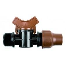 "Кран BF-valve lock 3/4"" НР компр. XP008275V Китай"