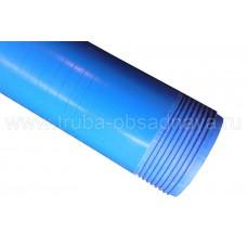 Фильтр скважинный щелевой НПВХ  125х5,0х2070