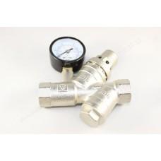 """VT.515 Подпиточный клапан с фильт. и манометром. 1/2"""""""