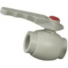 Вентиль пласт. шаровой 25 мм FV-Plast  (Чехия)