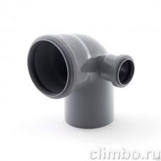 Отвод с правым патрубком 110х 50х87 СИНИКОН